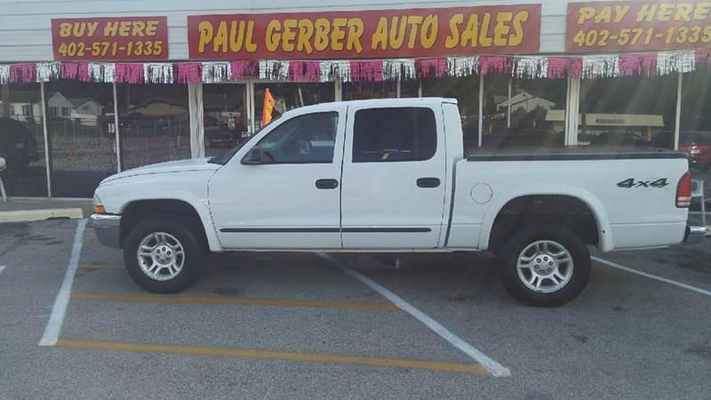 2004 Dodge Dakota for sale at Paul Gerber Auto Sales in Omaha NE