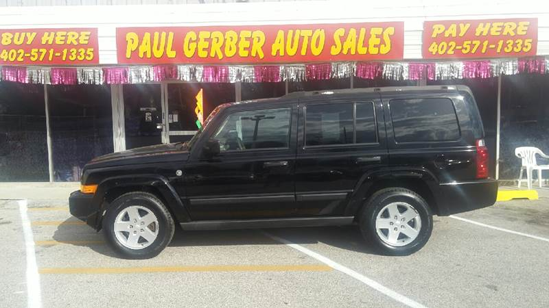 2006 Jeep Commander for sale at Paul Gerber Auto Sales in Omaha NE