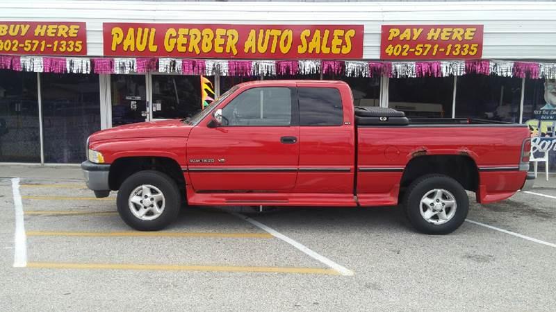1997 Dodge Ram Pickup 1500 for sale at Paul Gerber Auto Sales in Omaha NE