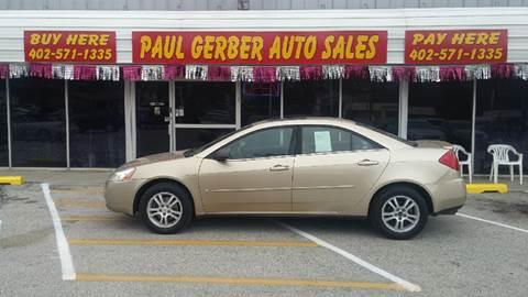 2006 Pontiac G6 for sale at Paul Gerber Auto Sales in Omaha NE
