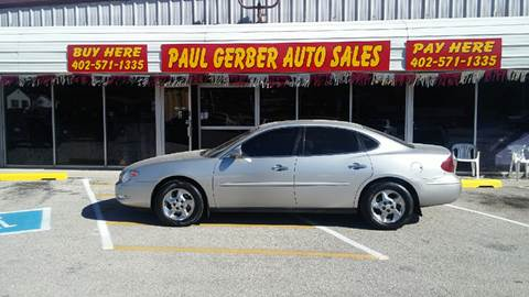 2006 Buick LaCrosse for sale at Paul Gerber Auto Sales in Omaha NE