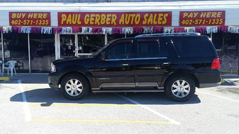 2004 Lincoln Navigator for sale at Paul Gerber Auto Sales in Omaha NE
