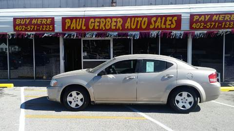 2009 Dodge Avenger for sale at Paul Gerber Auto Sales in Omaha NE