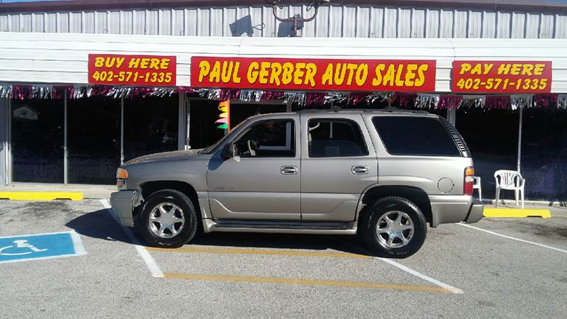 2003 GMC Yukon for sale at Paul Gerber Auto Sales in Omaha NE