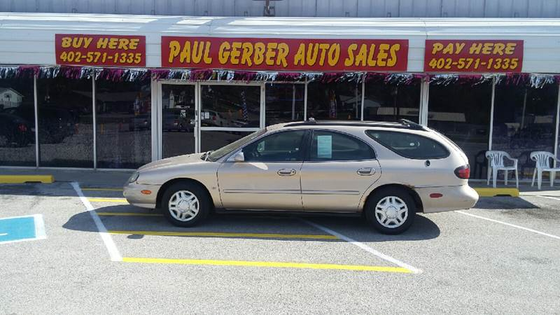 1999 Ford Taurus for sale at Paul Gerber Auto Sales in Omaha NE