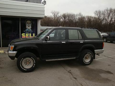 1990 Toyota 4Runner for sale at Paul Gerber Auto Sales in Omaha NE