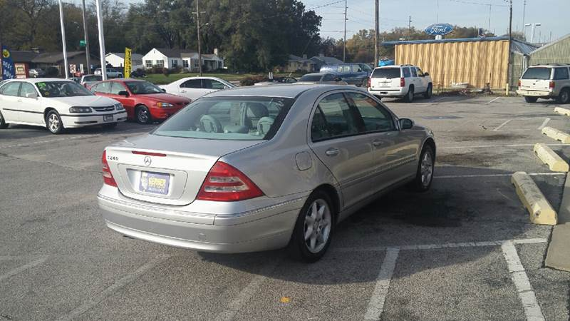2002 Mercedes-Benz C-Class for sale at Paul Gerber Auto Sales in Omaha NE