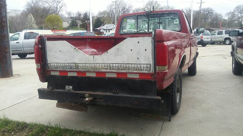 1990 Ford F-250 for sale at Paul Gerber Auto Sales in Omaha NE