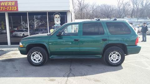 2003 Dodge Durango for sale at Paul Gerber Auto Sales in Omaha NE