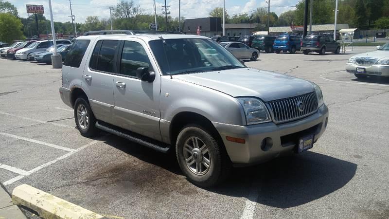 2002 Mercury Mountaineer for sale at Paul Gerber Auto Sales in Omaha NE