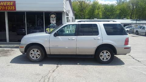 2002 Mercury Mountaineer for sale at Paul Gerber Auto Sales in Omaha NE