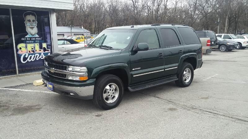 2003 Chevrolet Tahoe for sale at Paul Gerber Auto Sales in Omaha NE