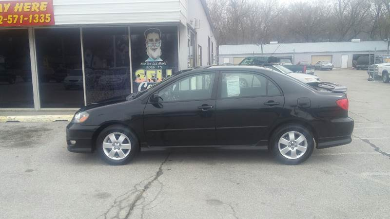 2007 Toyota Corolla for sale at Paul Gerber Auto Sales in Omaha NE
