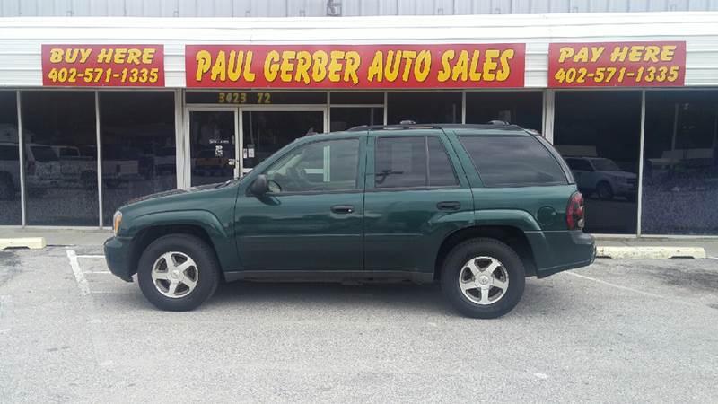 2006 Chevrolet TrailBlazer for sale at Paul Gerber Auto Sales in Omaha NE
