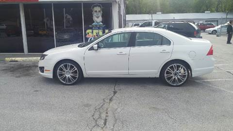 2010 Ford Fusion for sale at Paul Gerber Auto Sales in Omaha NE