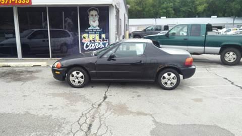 1993 Honda Civic del Sol for sale at Paul Gerber Auto Sales in Omaha NE