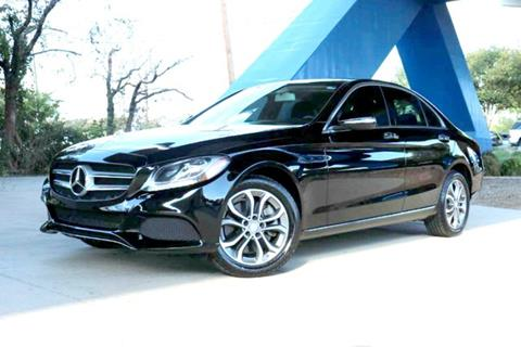 2015 Mercedes-Benz C-Class for sale at Motorcars of Dallas in Carrollton TX