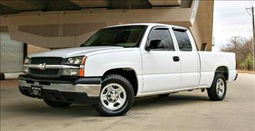 2004 Chevrolet Silverado 1500 for sale in Carrollton, TX