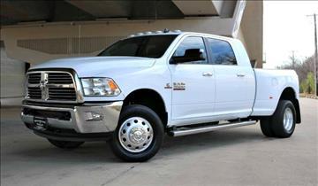2013 RAM Ram Pickup 3500 for sale at Motorcars of Dallas in Carrollton TX