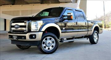 2012 Ford F-250 Super Duty for sale at Motorcars of Dallas in Carrollton TX
