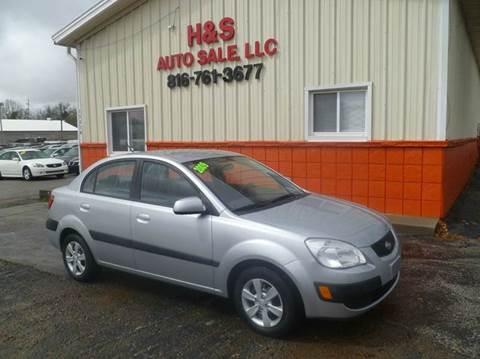 2009 Kia Rio for sale at H & S Auto Sale LLC in Grandview MO