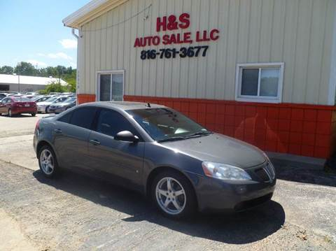 2009 Pontiac G6 for sale at H & S Auto Sale LLC in Grandview MO