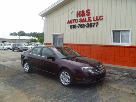 2011 Ford Fusion for sale at H & S Auto Sale LLC in Grandview MO