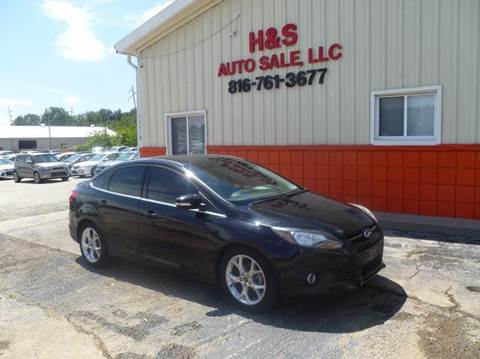 2013 Ford Focus for sale at H & S Auto Sale LLC in Grandview MO