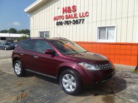 2006 Nissan Murano for sale at H & S Auto Sale LLC in Grandview MO