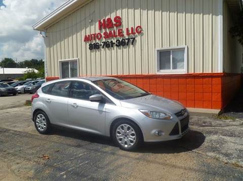 2012 Ford Focus for sale at H & S Auto Sale LLC in Grandview MO