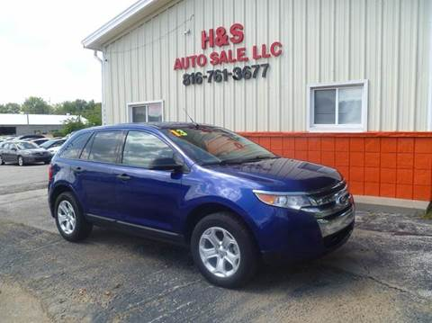 2013 Ford Edge for sale at H & S Auto Sale LLC in Grandview MO