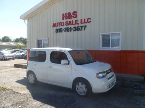 2012 Nissan cube for sale at H & S Auto Sale LLC in Grandview MO