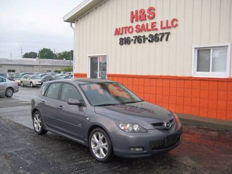 2007 Mazda MAZDA3 for sale at H & S Auto Sale LLC in Grandview MO