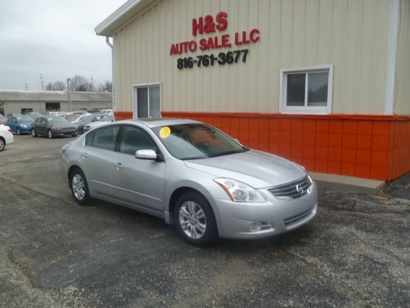 2010 Nissan Altima For Sale At H U0026 S Auto Sale LLC In Grandview MO