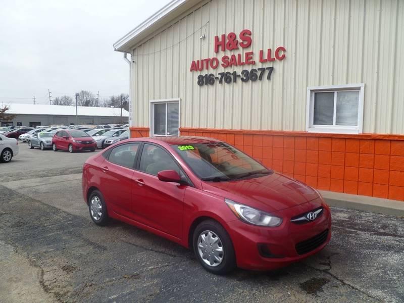 2013 Hyundai Accent For Sale At H U0026 S Auto Sale LLC In Grandview MO