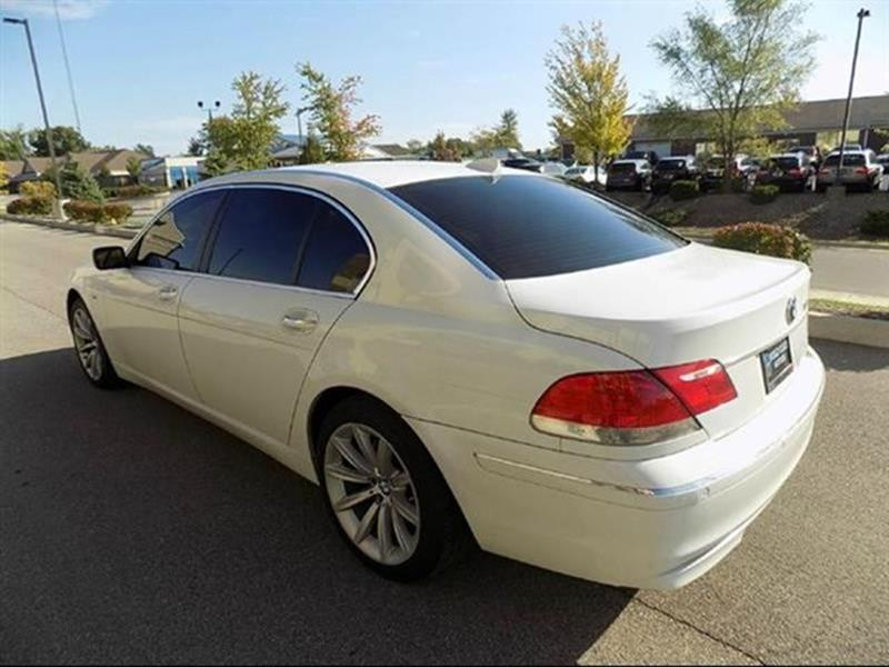 2008 Bmw 7 Series 750Li 4dr Sedan In Noblesville IN