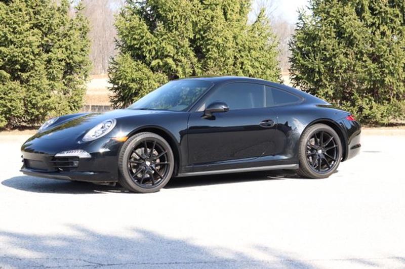 porsche 911 carrera 4 black edition