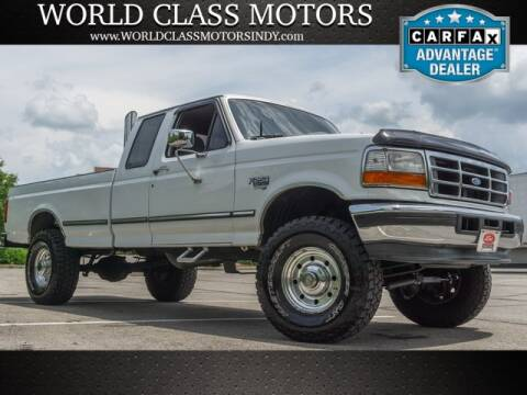 1997 Ford F-250 for sale at World Class Motors LLC in Noblesville IN