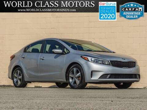 2018 Kia Forte for sale at World Class Motors LLC in Noblesville IN