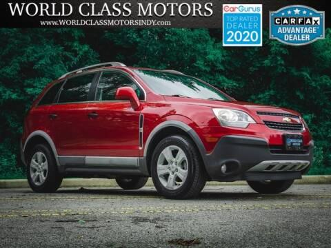 2014 Chevrolet Captiva Sport for sale at World Class Motors LLC in Noblesville IN