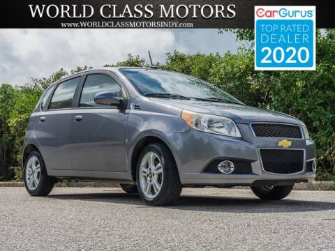 2009 Chevrolet Aveo for sale at World Class Motors LLC in Noblesville IN