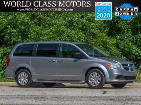 2018 Dodge Grand Caravan for sale at World Class Motors LLC in Noblesville IN