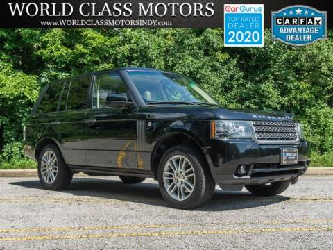 2010 Land Rover Range Rover for sale at World Class Motors LLC in Noblesville IN
