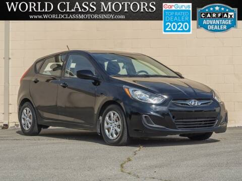 2014 Hyundai Accent for sale at World Class Motors LLC in Noblesville IN
