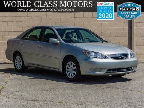 2005 Toyota Camry for sale at World Class Motors LLC in Noblesville IN