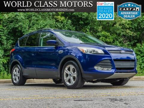 2013 Ford Escape for sale at World Class Motors LLC in Noblesville IN