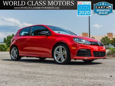 2013 Volkswagen Golf R for sale at World Class Motors LLC in Noblesville IN