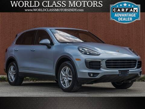 2016 Porsche Cayenne for sale at World Class Motors LLC in Noblesville IN