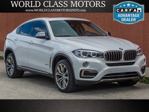 2016 BMW X6 for sale at World Class Motors LLC in Noblesville IN