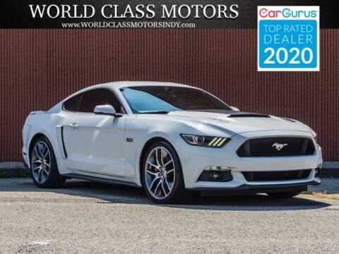 2015 Ford Mustang for sale at World Class Motors LLC in Noblesville IN